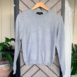 Forever 21 Grey Sweater Long Sleeved Medium